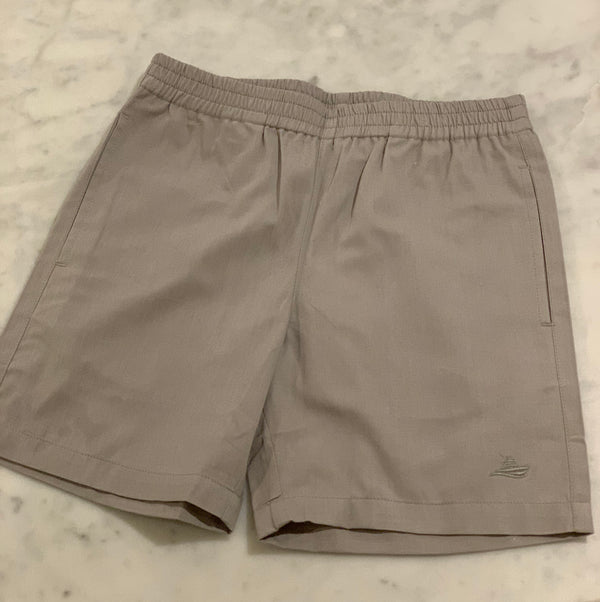 Pull on Shorts-Grey