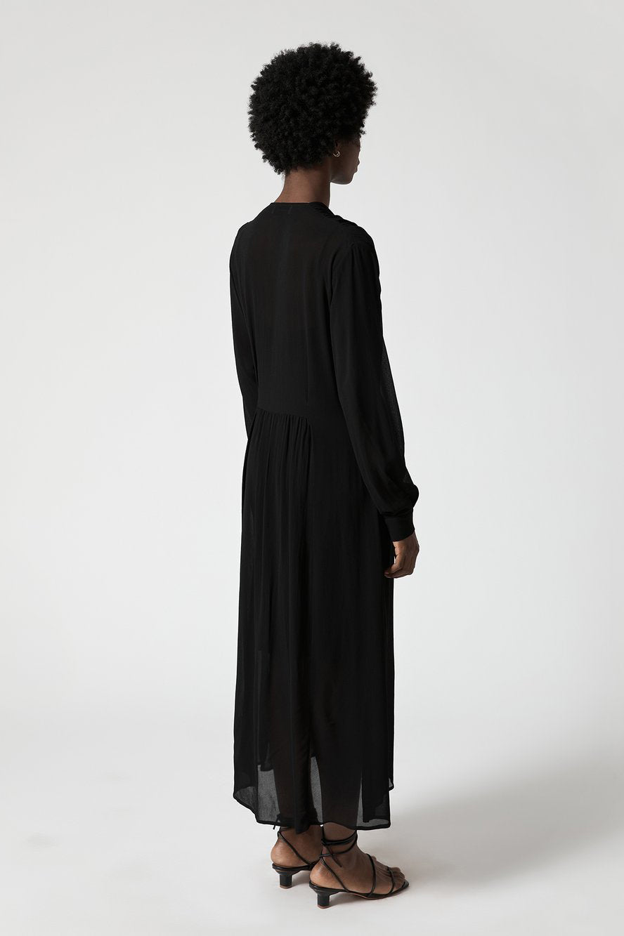 Clichy Dress in Onyx