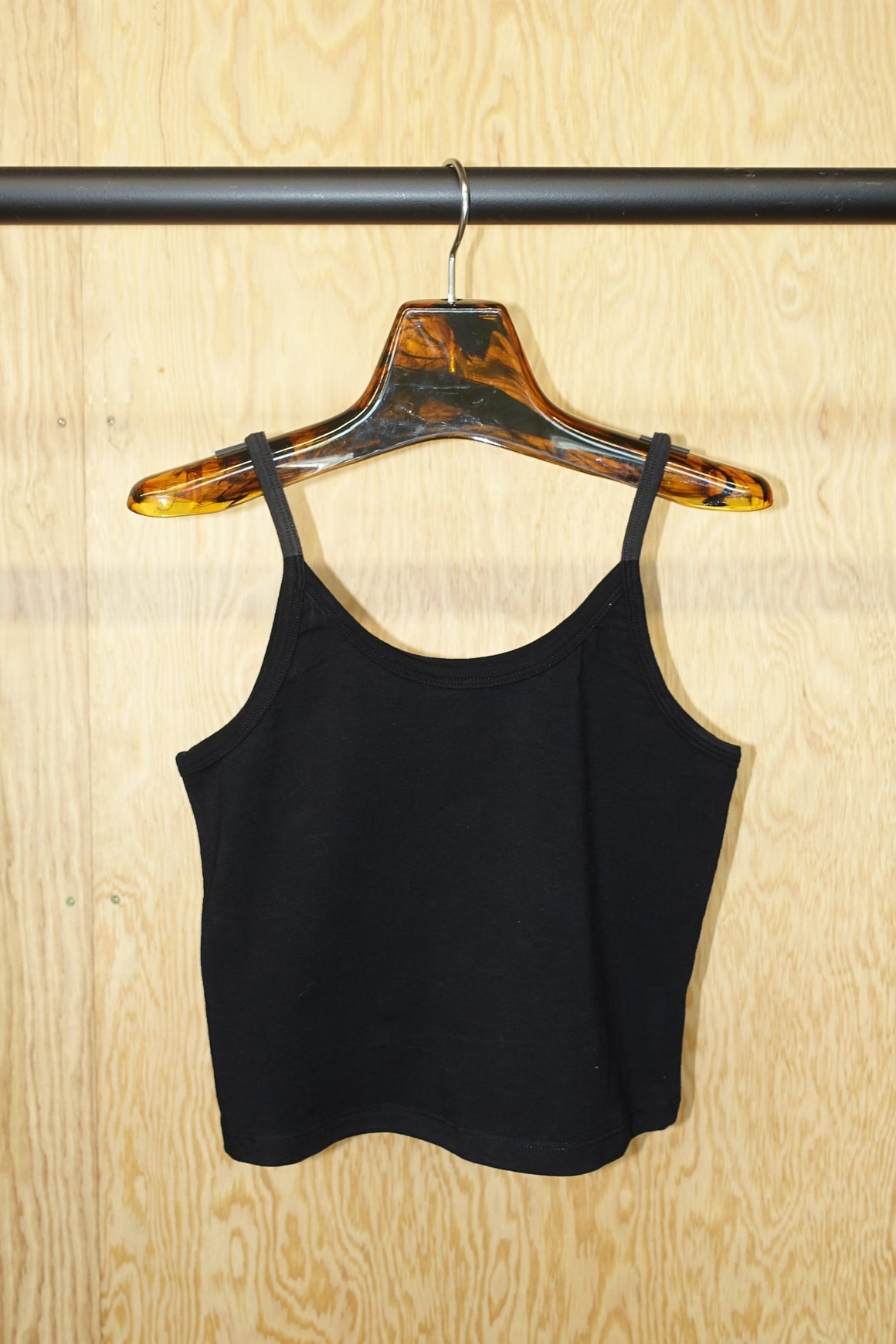 Crop Tank in Black