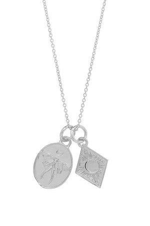 Renewal Charm Necklace in Sterling Silver
