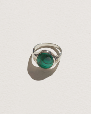 Essential Ring in Malachite
