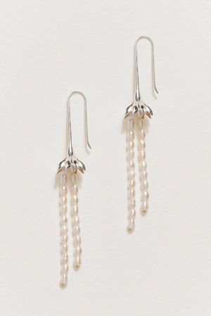 Anemone Pearl Earrings