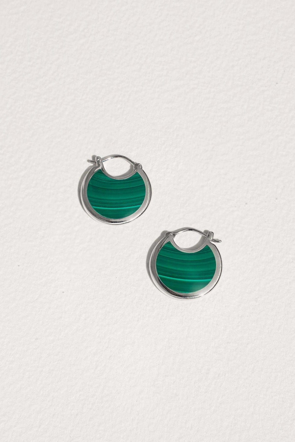 Mojave Hoops in Malachite