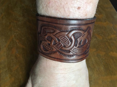 Viking Dragon wrist band
