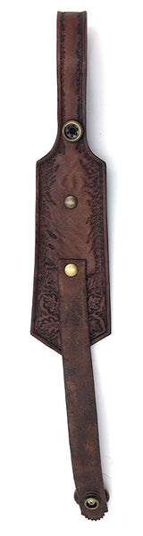 Brown Celtic Tankard/Brew Mug Strap for Kilt Belt
