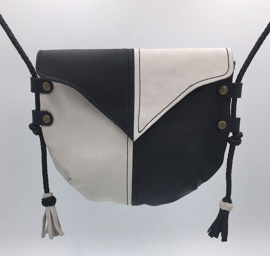 Black & Bone Harlequin Event/Walking Leather Crossbody Bag, Medium #2