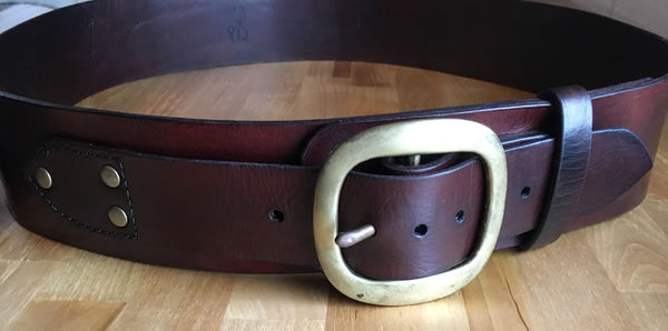 The Classic Brown Kilt Belt