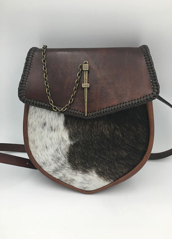 "The ""Coo"" Hide Sporran Purse"