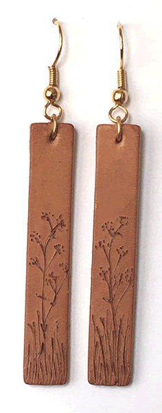 Highland Ramble Leather Earrings 004