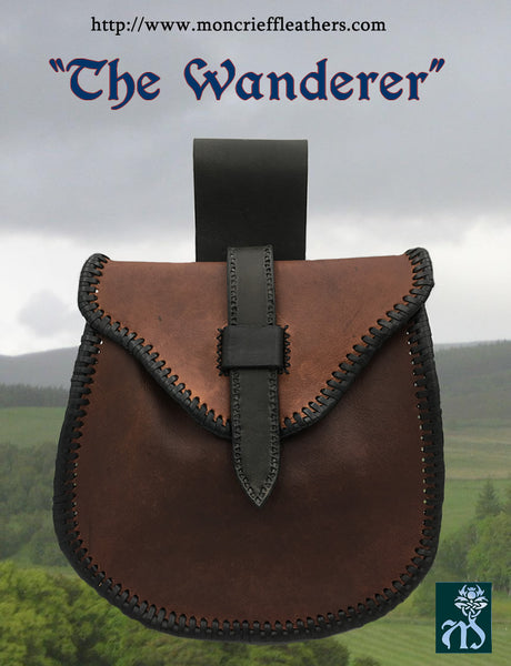 "Sporran ""The Wanderer"", Viking Belt Pouch"