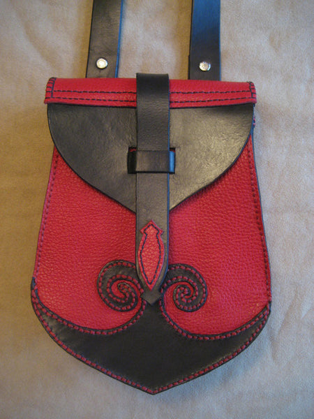 Ladies Hand Made Celtic Cross Body Bag