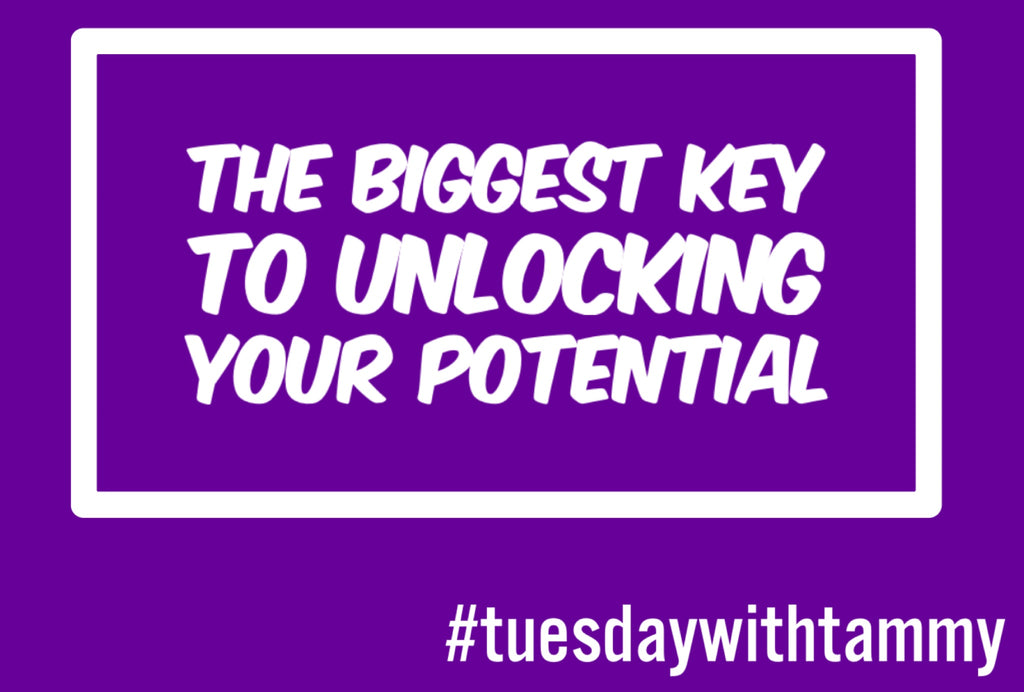 The biggest key to unlocking YOUR potential