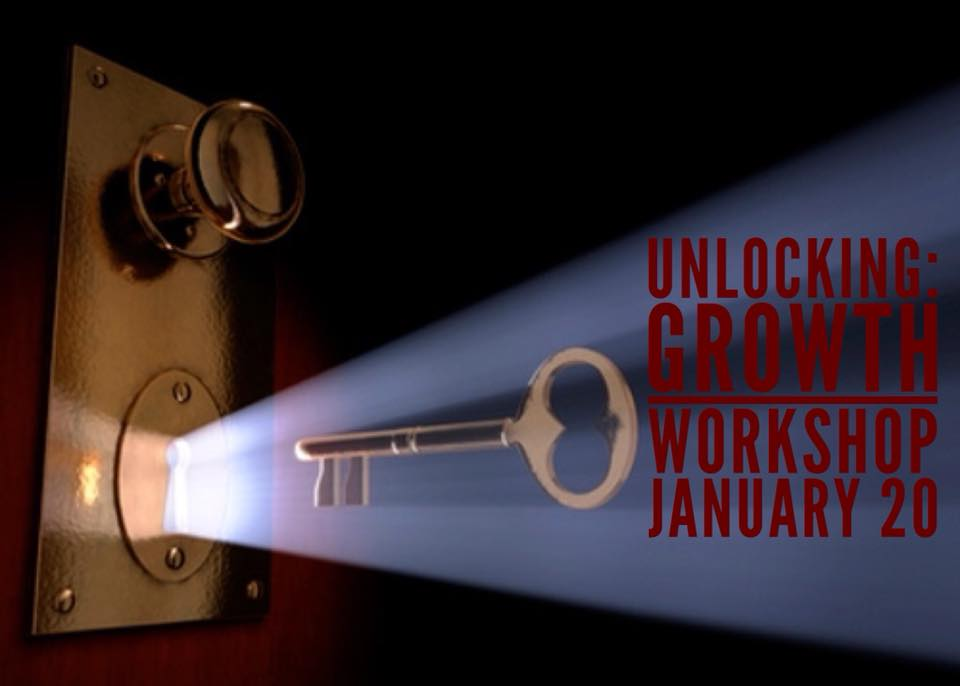 Unlocking:  Growth in 2018 - JANUARY 20th - 1 day workshop in Cedar Park, TX