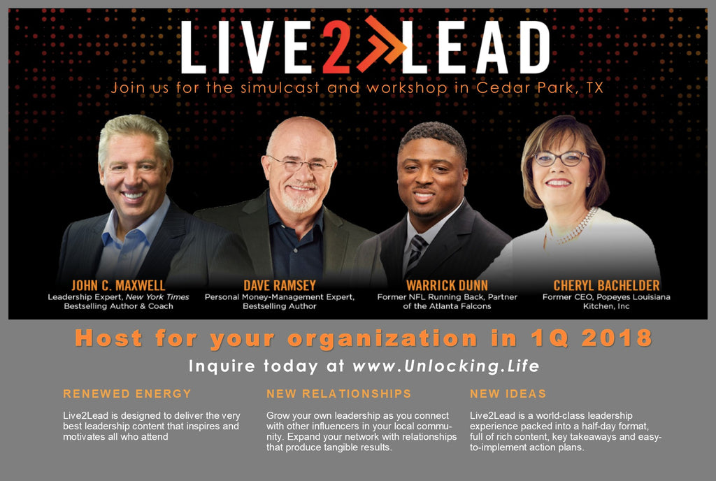 Live2Lead - leadership conference - For YOUR team