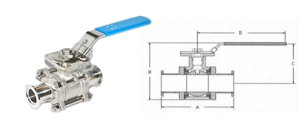 KF Ball Valve, Manual