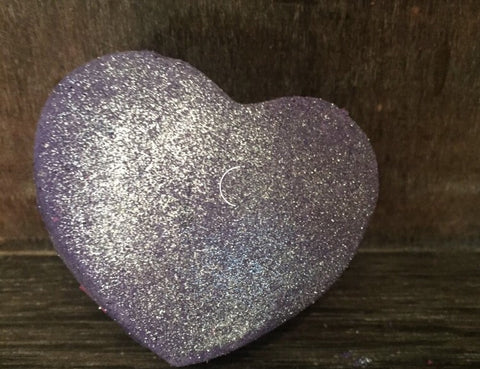 Purple Heart Bubble Bath Bar