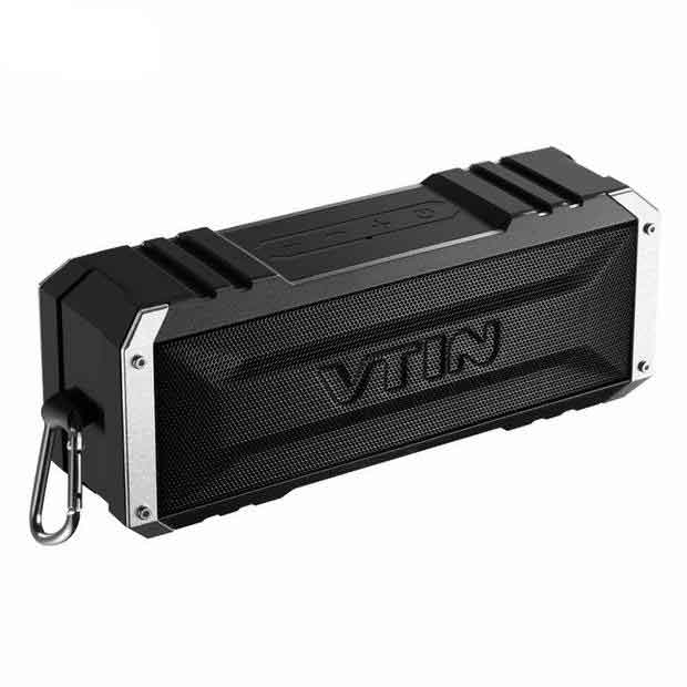 VTIN Portable Wireless Waterproof Bluetooth Speaker