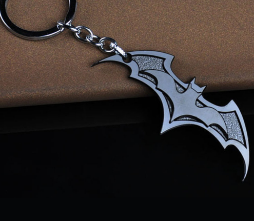 batman logo key chain