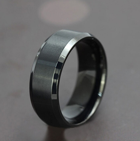 black ring for men