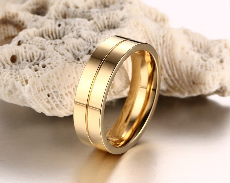 couple ring set golden
