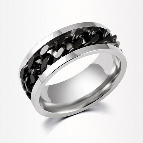 black ring for man