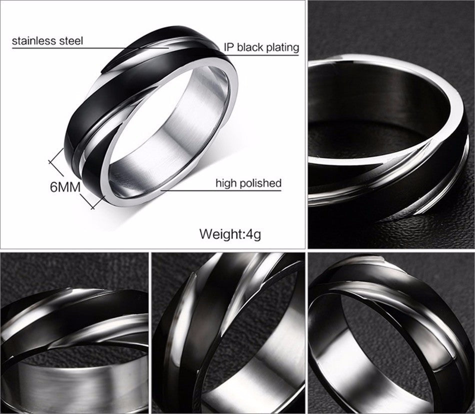 geometric ring for men