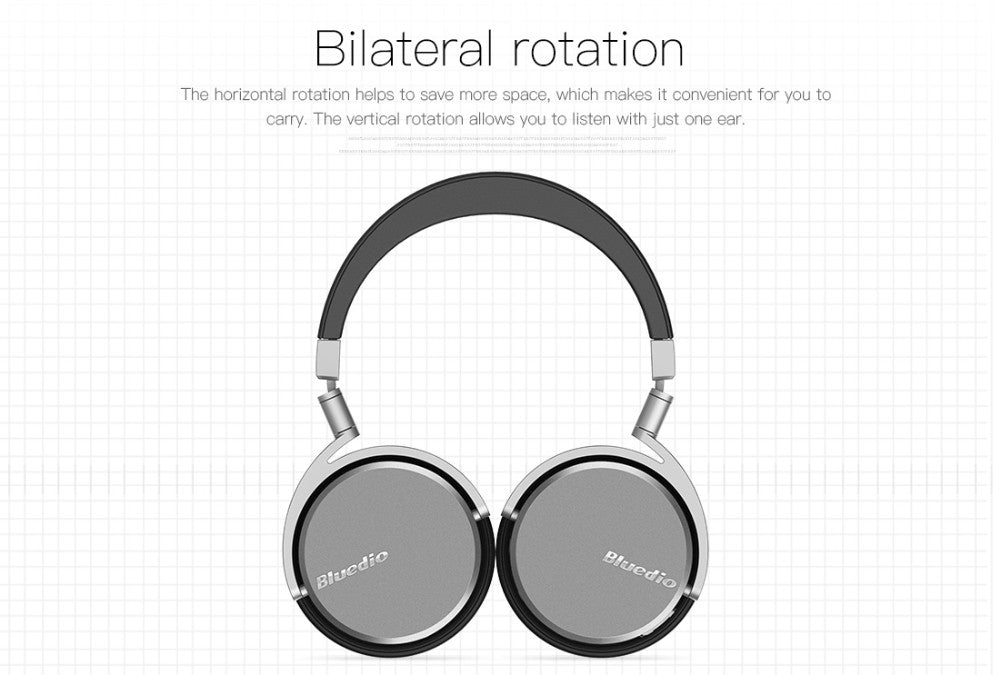 NEXEN Bluetooth Headphone w/ Dual 180 Degree Rotation Design