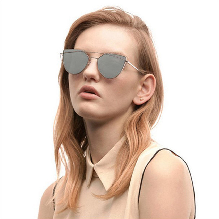 golden frame sunglasses for women