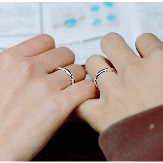 couple silver ring