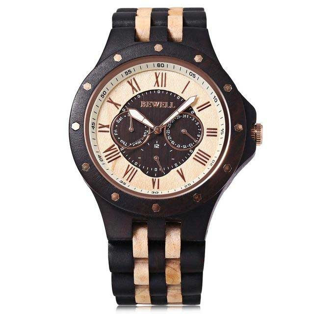 NECTOS - Premium Wooden Watch