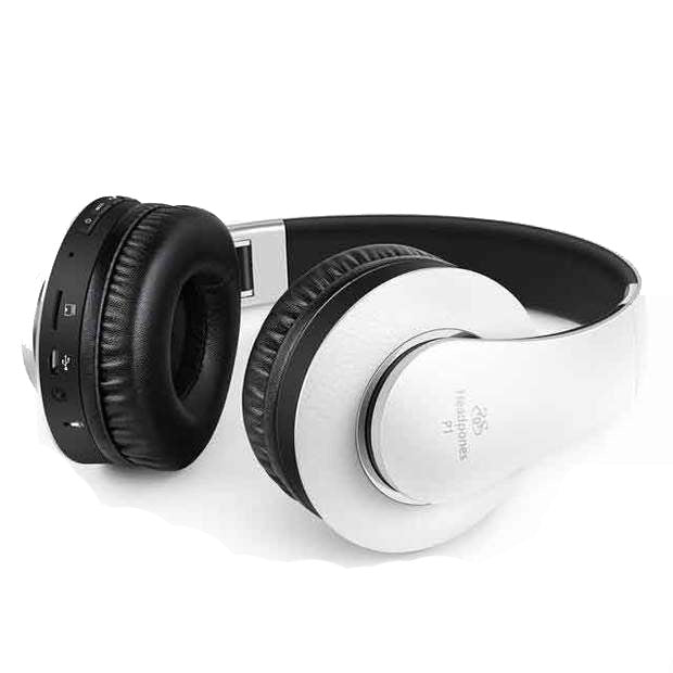 P1 Bluetooth Headphone Version 4.0 - White