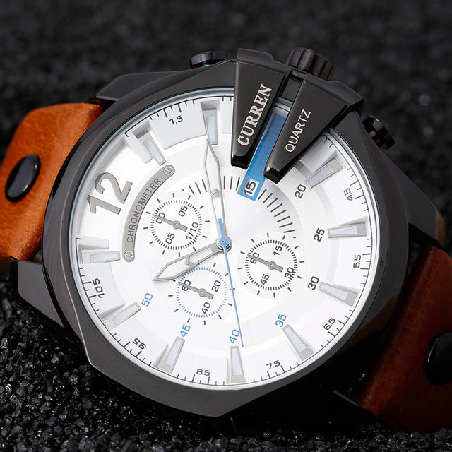 INTREPID - Men's Oversized Watch