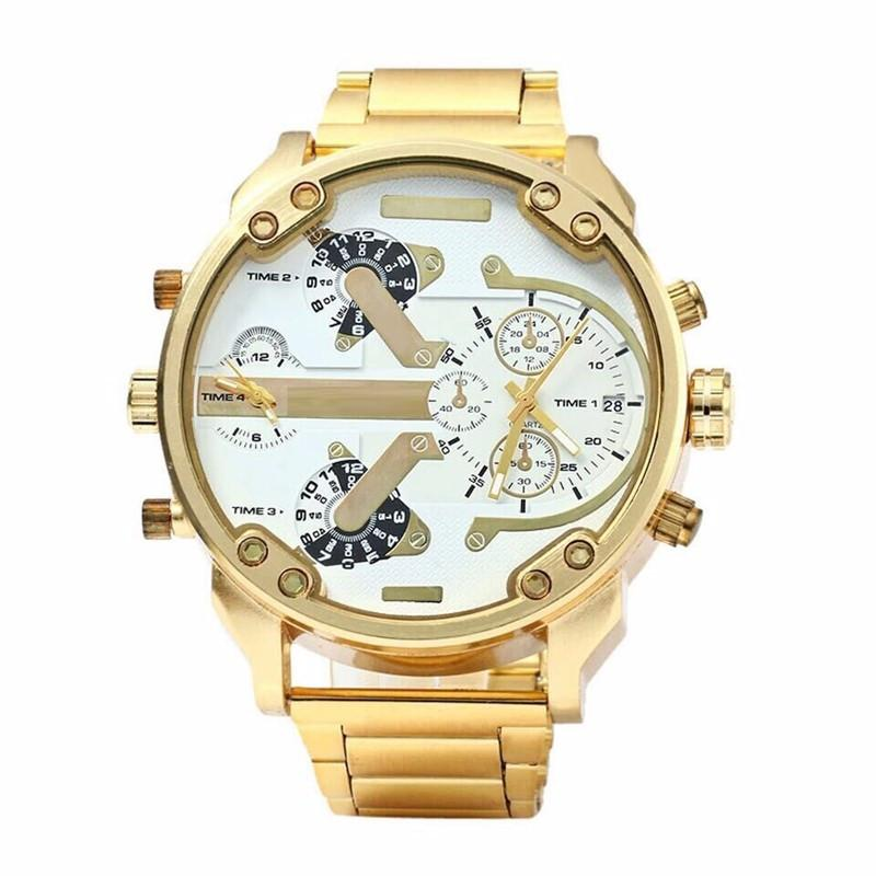 Big Golden Men's Watch
