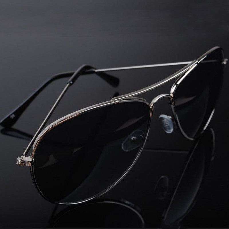 black and black men's aviator sunglasses