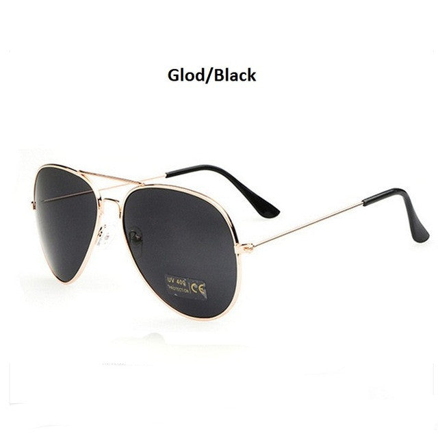 gold black men's aviator sunglasses
