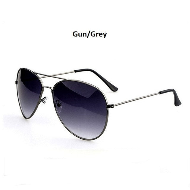 silver silver men's aviator sunglasses