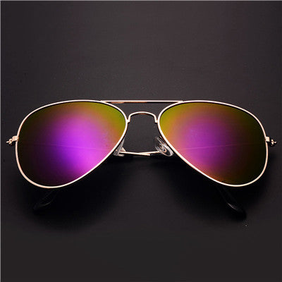gold frame sunglasses for women