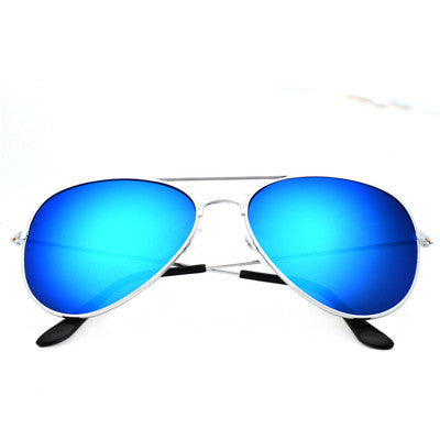 Women Aviator Sunglasses Gold frame Glasses