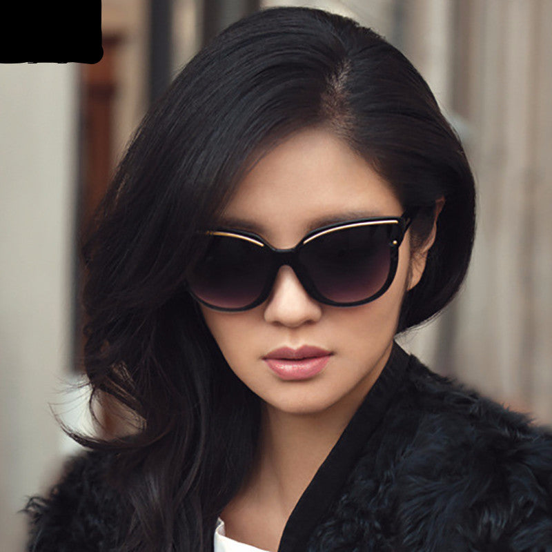 women fashion cat eye frame sunglasses