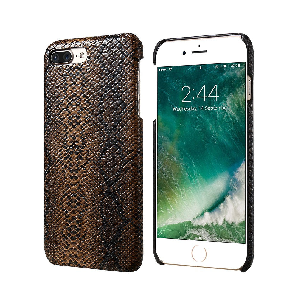 Luxury Crocodile Snake Leather iPhone Case Cover