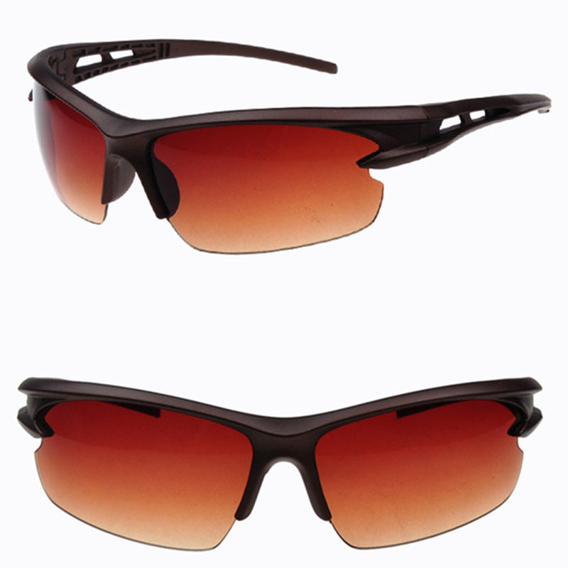 red orange cool unisex sunglasses