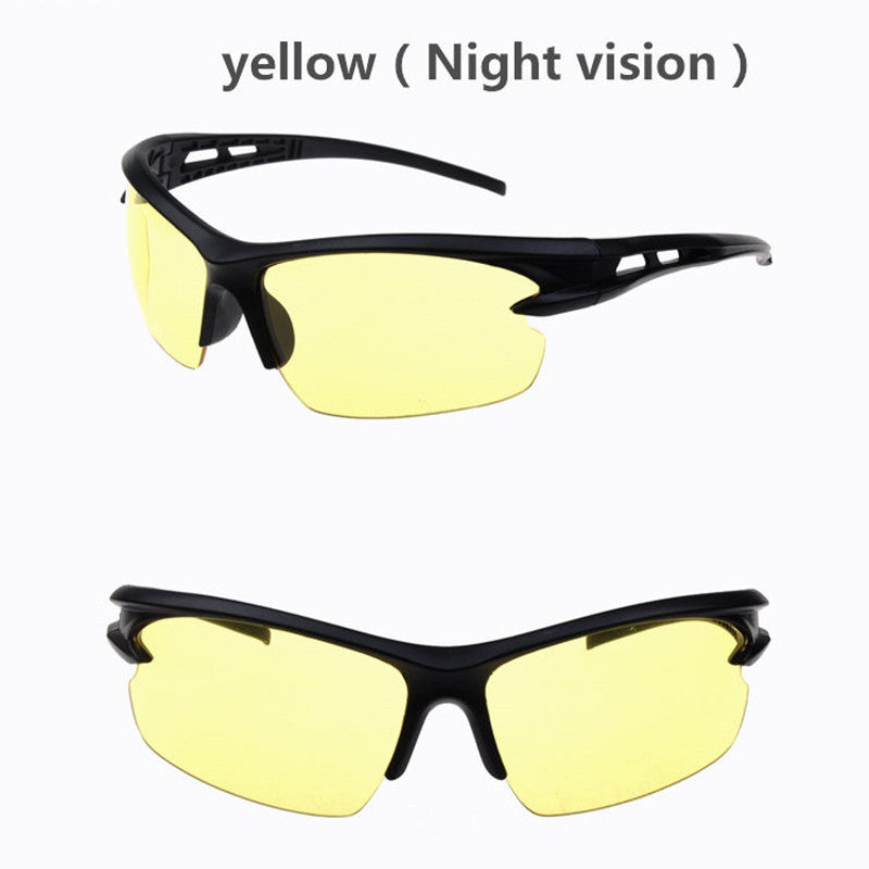 yellow cool unisex sunglasses