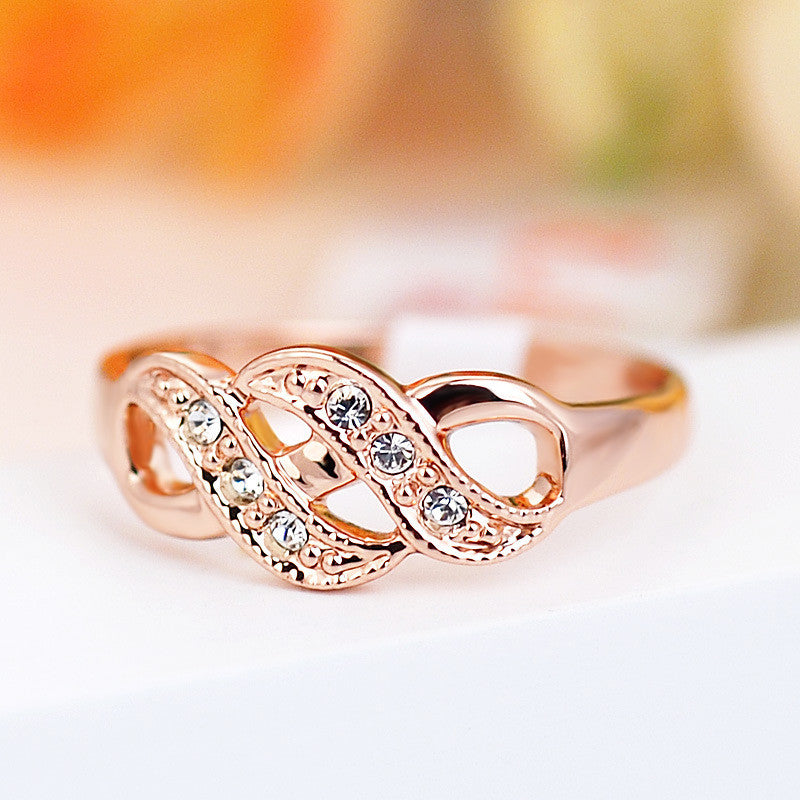 Rose Gold Hollow Vintage Ring