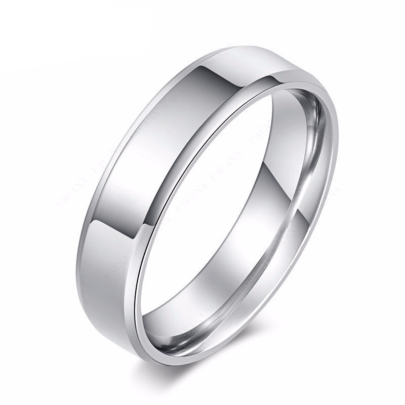 silver polishing stainless steel ring