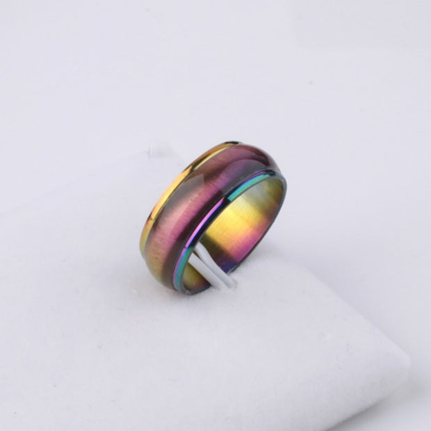 Rainbow Stainless Steel Ring