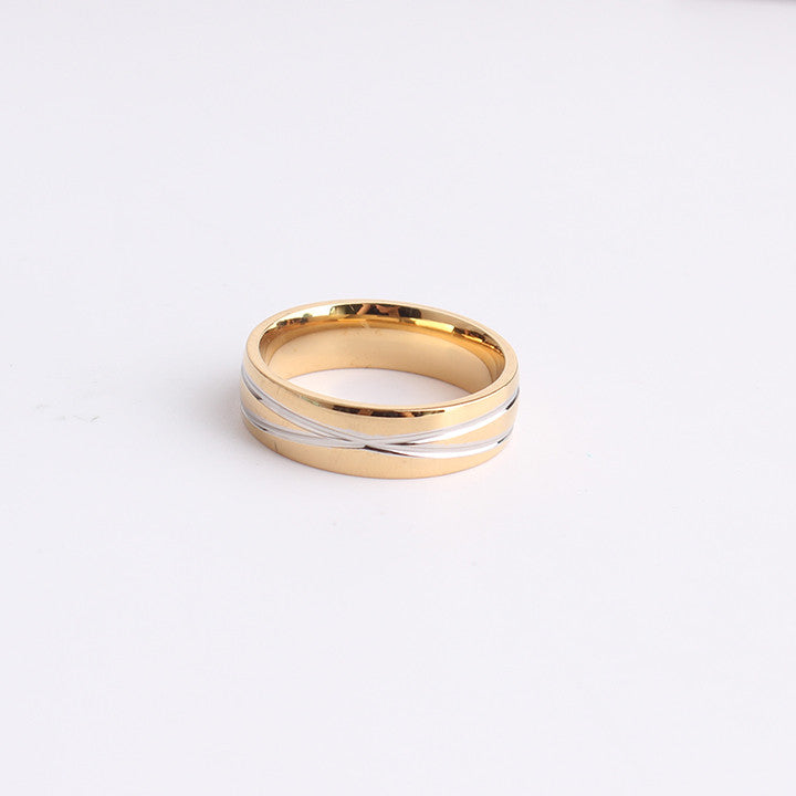 golden cross ring
