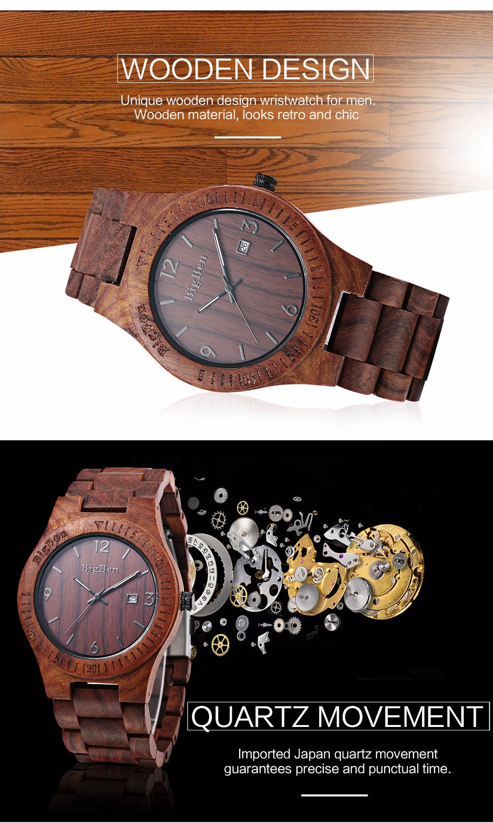 LIK - Premium Wooden Watch