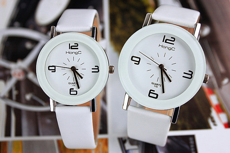 Modern Design Watch With Unique Leather (available in more colors)