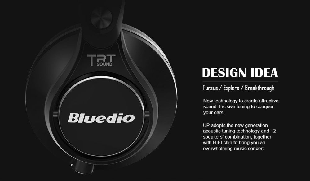 UFO High-End Wireless Bluetooth Headphone w/ Mic