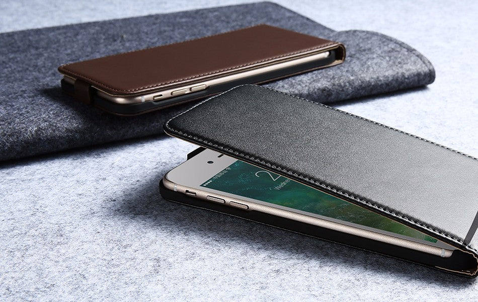 Vintage Flip Leather Case For iPhone